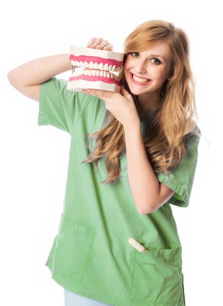Zahnarztassistentin